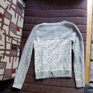 Girls kids sweater top cardigan sweater